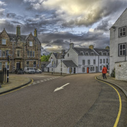 Inverary With A Tourist