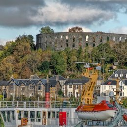 Oband Ferry And Castle Folly