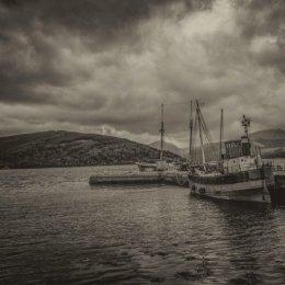 Inverary Dock on Loch Fyne