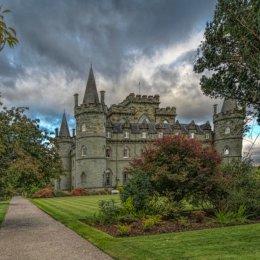 Inverary Castle Setting Sun