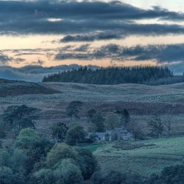 Loch Awe Evening Sky