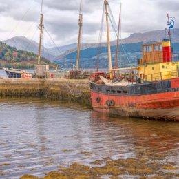 Inverary Dock Boats on Lock Fyne