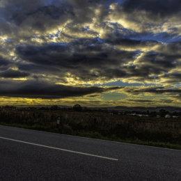 Evening Sky Oban