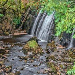Loch Awe Waterfall