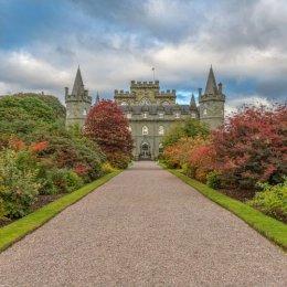 Inverary Castle Garden