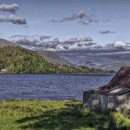 Loch Awe Old Barn