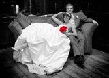 Wedding photography at Walton Hall.