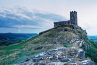 Brentor with Blue Moon