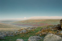 Great Mis Tor moon rise