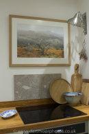 Oak framed photo