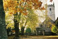 Manaton Church and Green