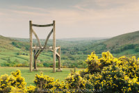 Giant's chair with gorse