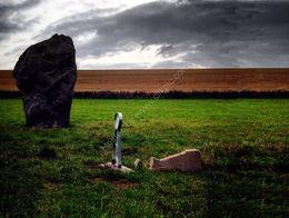 Keyhole Reflects on Fallen Stone