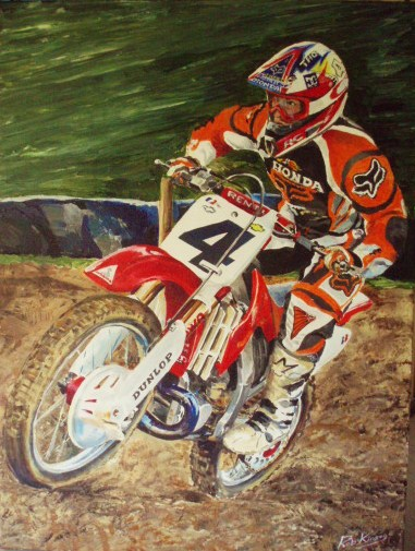 Ricky Carmichael commission