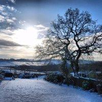 Snowy Derbyshire