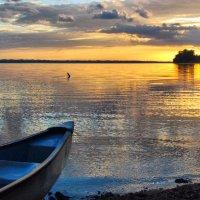 Lake Peten Itza, Guatemala