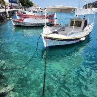 Skiathos boats