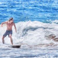 Palm Beach surfer