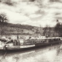 Cromford canal barge