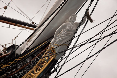 The Forefoot of Cutty Sark