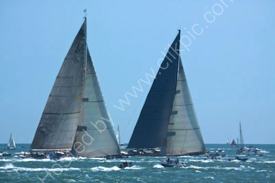 Racing J Class Yachts