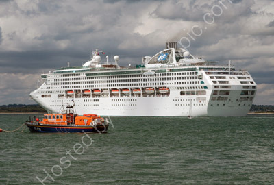 Sae Princess & Calshot Lifeboat