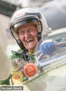 Norman Dewis OBE-Jaguar test driver extraordinaire.
