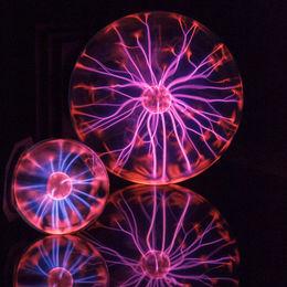 Plasma Ball Reflections