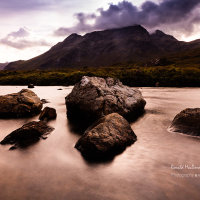 Cloud on Sgurr nan Gillean, Skye