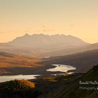 Black Cuillin Shadows, Isle of Skye