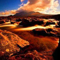Cuillin Sky Crossing Water, Isle of Skye
