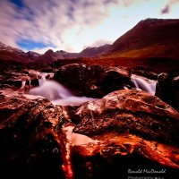 Fairy Pool Steps, Skye
