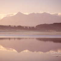 Reflected Light from the Black Cuillin, Isle of Skye