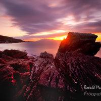 Sun Setting Over Rum, Skye
