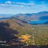 Mount William Range and Lake Bellfield, Western Vic
