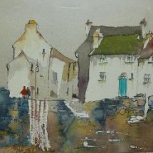 Watercolour of Polperro