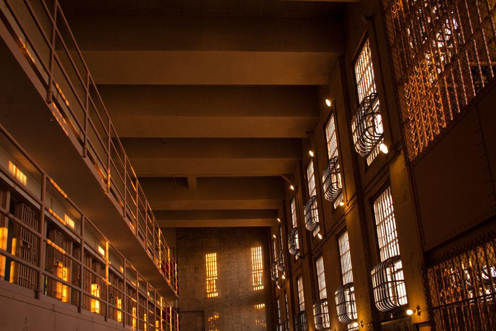 Alcatraz light