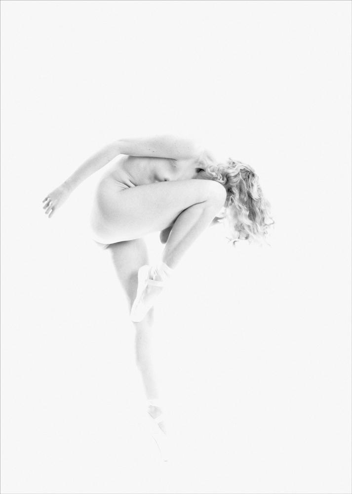 Ballet pose.