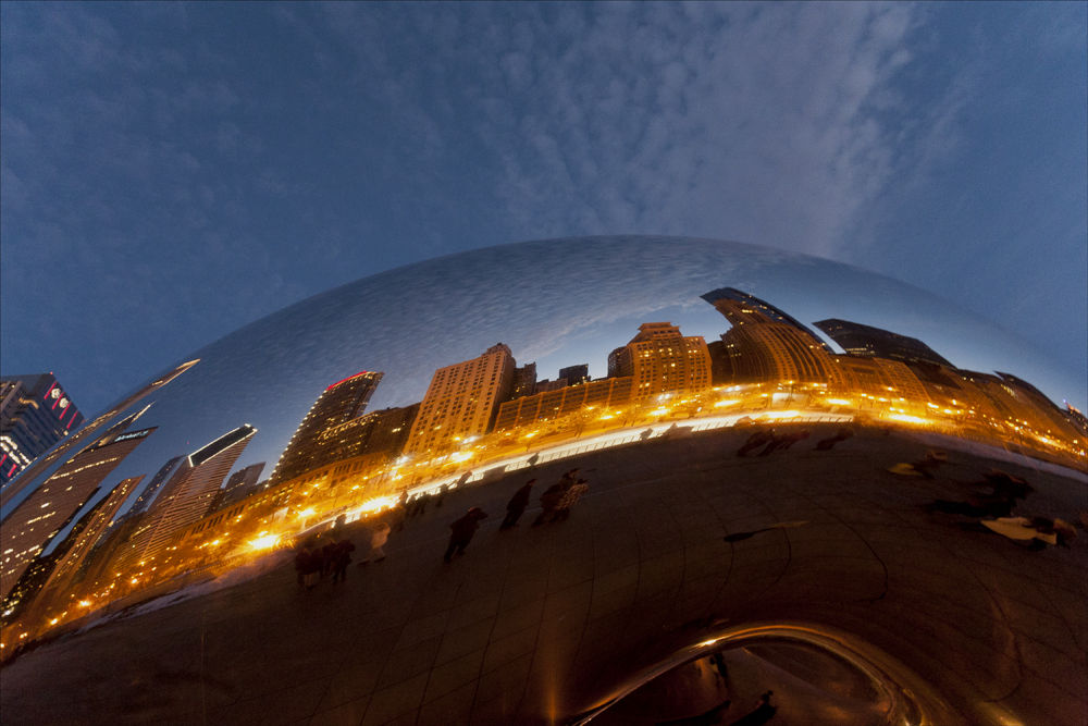 Chicago Reflection 2