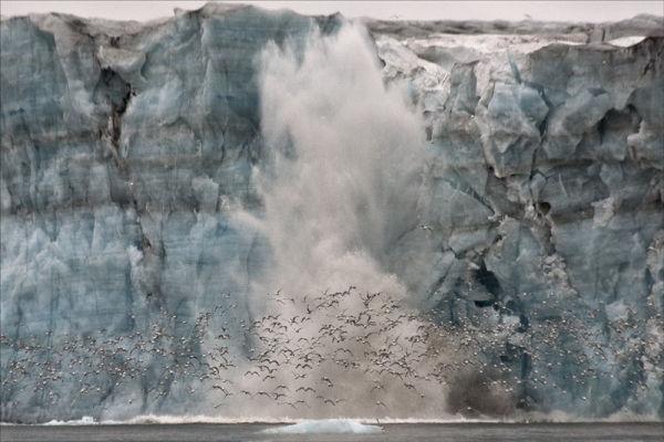 Explosive Glacier