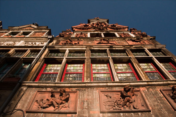 Facades, Ghent.