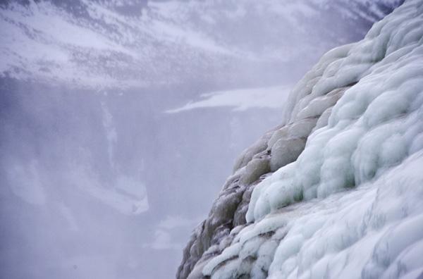 Gullfoss ice.