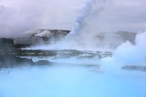 Steam. Blue Lagoon.