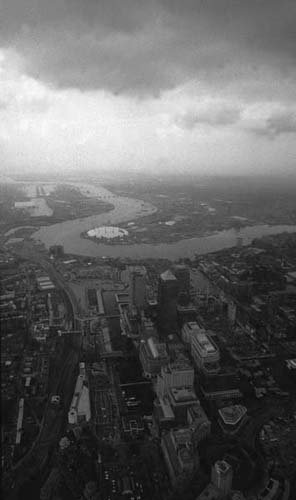 Docklands from the Air.