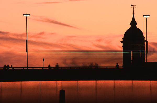 London Bridge Dusk.