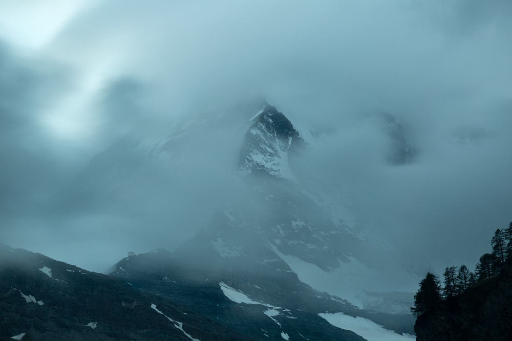 Matterhorn and cloudscape