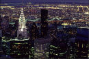 New York city lights.