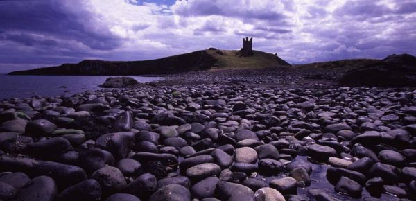 Dunstanburgh Castle, Northumberland.