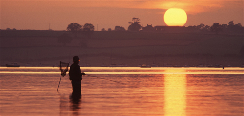Rutland Water, Fisherman.