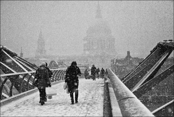 Snowbound London